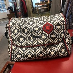 Petunia Pickle Bottom Islington Boxy Diaper Bag